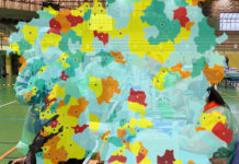 A tendencia dos novos casos na última semana anticipa, en ocasións, o aumento de restricións nalgúns municipios. Imaxe: Área sanitaria de Santiago/elaboración propia.