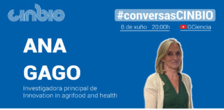 Ana Gago. Conversas Cinbio.