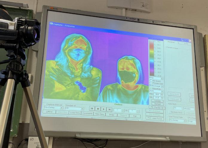 Obradoiro da UVigo sobre termografía infravermella.