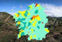 A meirande parte dos municipios 'libres' de Covid-19 están nas provincias de Lugo e Ourense.