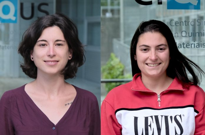 Soraya Learte e Eva Rivera, investigadoras do CiQUS. Foto: CiQUS.