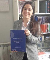 Coral Salvador é a autora da tese. Foto: Duvi.