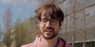Darío Lago é doutorando no Institut de Ciències Fotòniques de Castelldefels. Imaxe: ICFO.