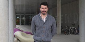 O investigador da Facultade de Ciencias da Educación e do Deporte Ezequiel Rey. Foto: Duvi.