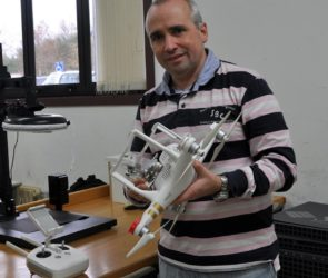 Fernando Martín, investigador do Grupo de Procesado de Imaxe e Realidade Virtual (GPI-RV) de atlanTTic. Foto: Duvi.