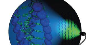"""Ilustración sobre a investigación do CiQUS que recolle a revista """"Angewandte Chemie""""."""