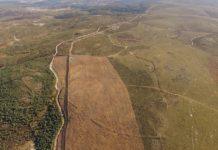 O recinto de Lomba do Mouro, na fronteira entre Galicia e Portugal. Foto: Manuel Gago