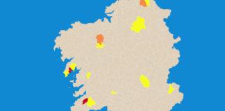 O novo mapa de restricións entrará en vigor na medianoite do venres 4 ao sábado 5.