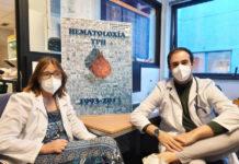 Sonia González e Adrián Mosquera, dous dos autores da investigación. Foto: IDIS.