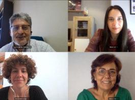 Carlos Iglesias, Belén Lemos, Cristina Vázquez, e Mª José Cabaleiro, membros de Ecobas