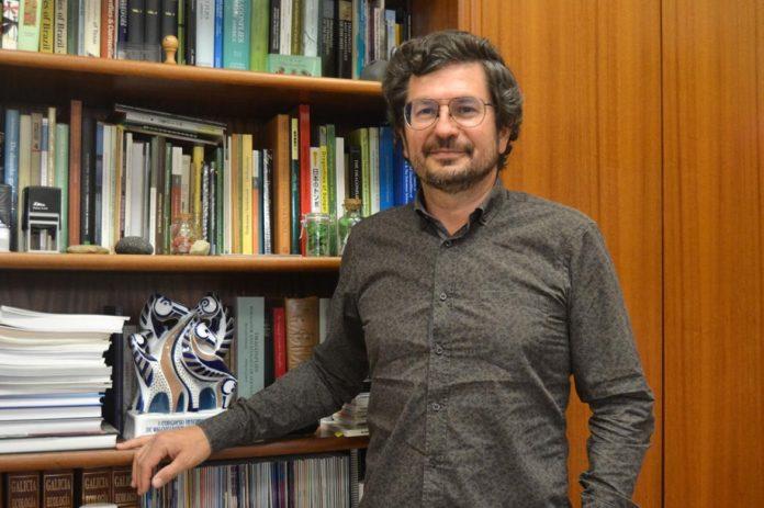 O catedrático da UVigo Adolfo Cordero. Foto: Duvi.