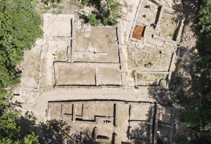 Vista aérea do xacemento de Armea. Foto: Duvi.