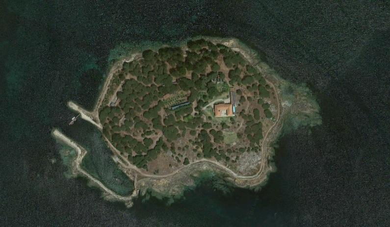 Illa da Creba. Foto: Google Street View.