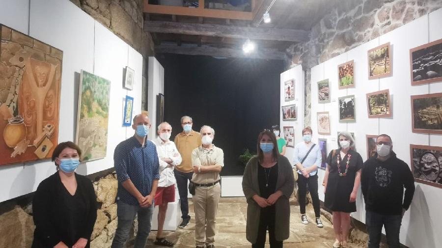 Inauguración da exposición sobre Armea que se pode ver na Paneira de Allariz. Foto: Duvi.