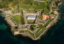 O Castelo de San Felipe é un dos emblemas da ría de Ferrol. Foto: Observer.