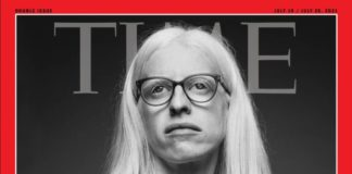Susana Rodríguez Gacio, na portada de TIME. Foto: Gianfranco Tripodo.