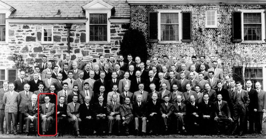 Ancochea foi o único español presente na conferencia matemática que conmemorou o segundo centenario da Universidade de Princeton, en 1946.