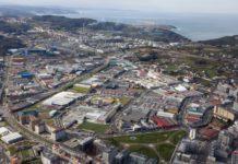 A estación de calidade do aire no polígono da Grela (A Coruña), rexistra algúns dos maiores niveis de contaminación de Galicia. Foto: agrela.com.