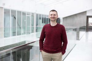 O científico Rytis Maskeliūnas, da Universidade Tecnolóxica de Kaunas. Foto: KTU.