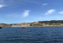 Chegada á illa de Sálvora.v