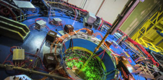 Detector STAR no Relativistic Heavy Ion Collider (RHIC). Foto: Brookhaven National Laboratory
