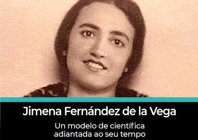 Portada da obra sobre Jimena Fernández de la Vega que se presentará este venres.
