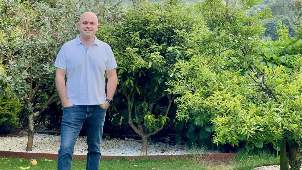 Francisco Bellas Aláez, autor da tese. Foto: DUVI
