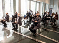 Público e autoridades asistentes ao acto.